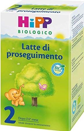 600 g continuazione 2 Hipp Latte per bambini